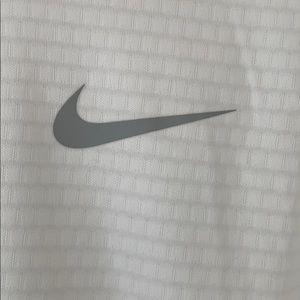 Nike Tops - White Nike Golf ZipUp - Never Worn